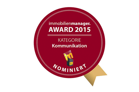 Nominiert für den Immobilienmanager Award